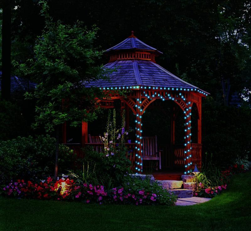 Solar Powered Gazebo Lights