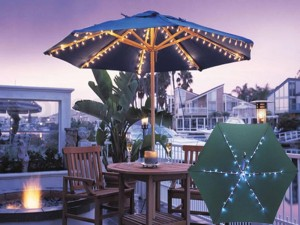 Solar String Lights for Gazebo