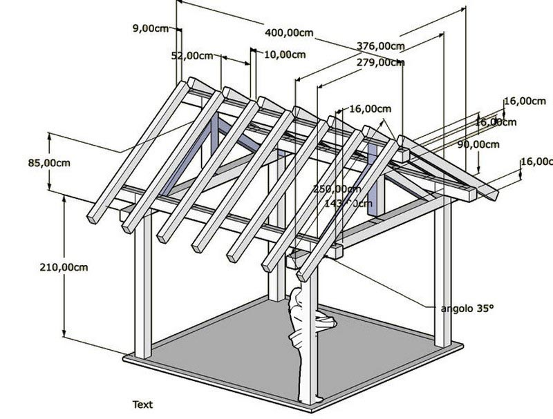 Square Gazebo Building Plans