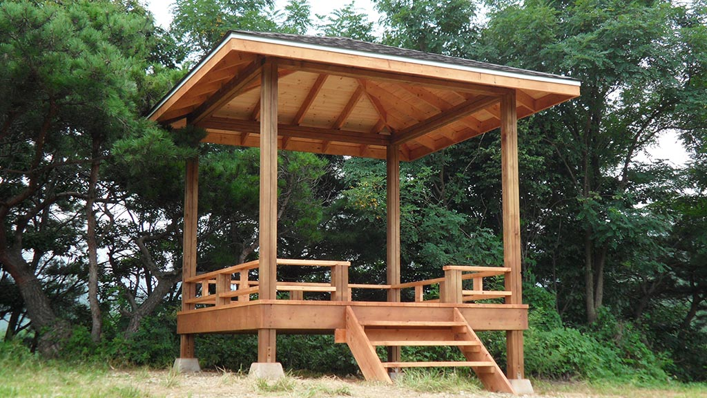 Square Gazebo Design Plans