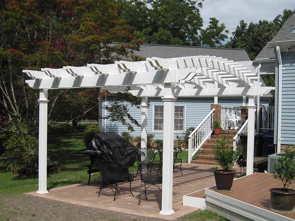 Square Vinyl Gazebo Kits