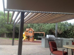 Sunbrella Fabric Pergola Cover