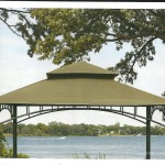 Sunjoy Madaga Replacement Gazebo Metal Frame Parts