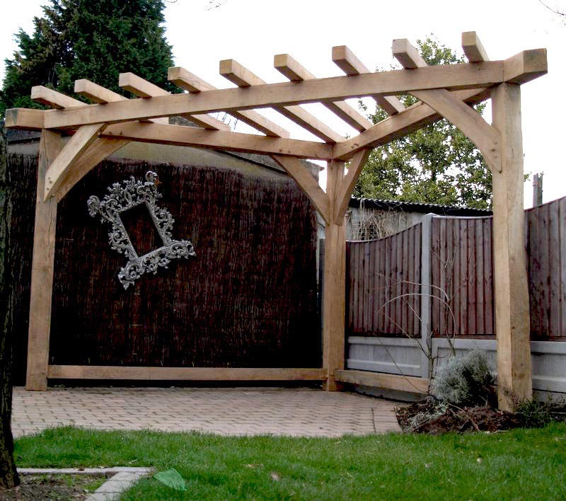 Triangular Pergola Kits