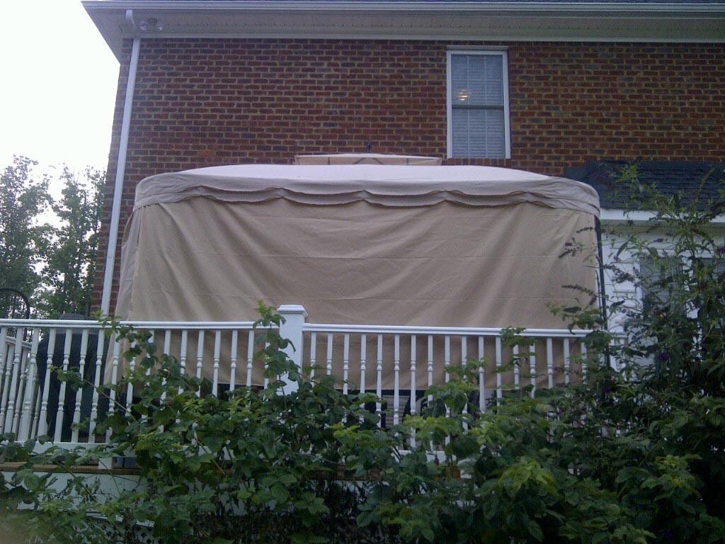 Universal Pergola Shade Canopy