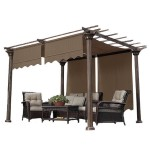 Universal Replacement Pergola Shade Canopy