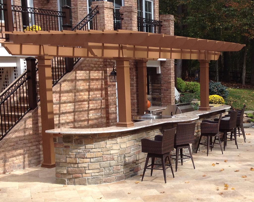 Vinyl Patio Pergola Kits