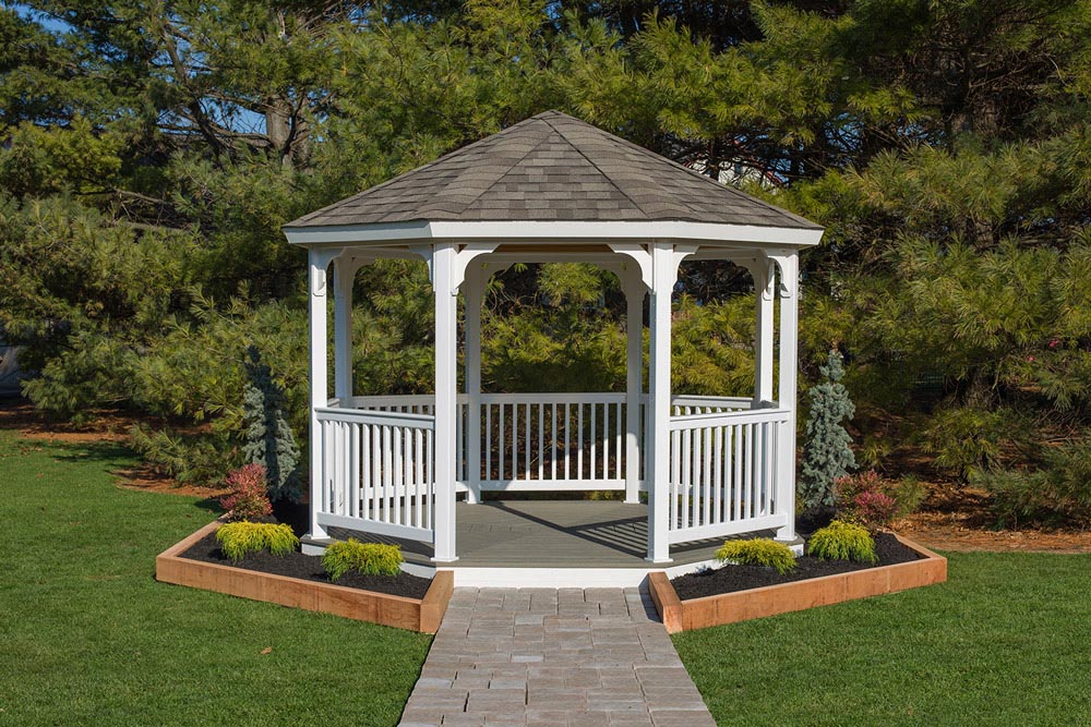 Vinyl Screened Gazebo Kits