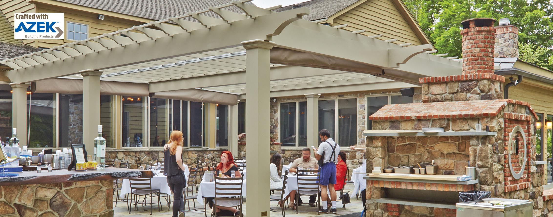 Walpole Outdoor Pergola Kits