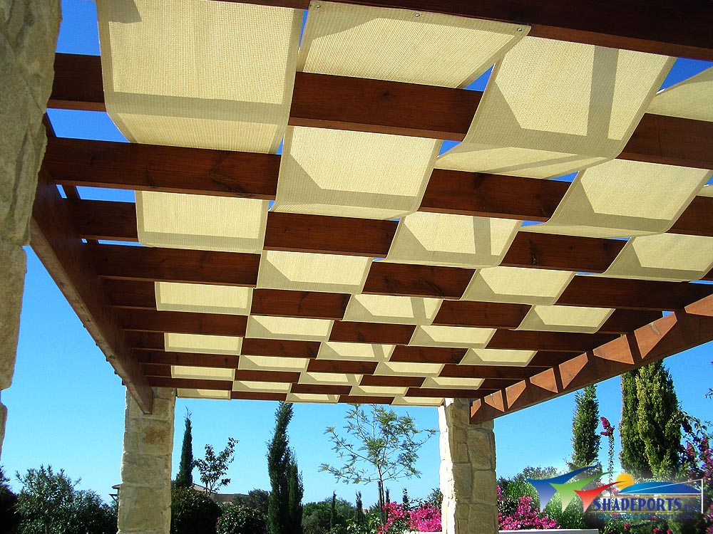 Waterproof Fabric Pergola Cover
