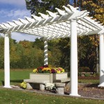 White Vinyl Gazebo Kit