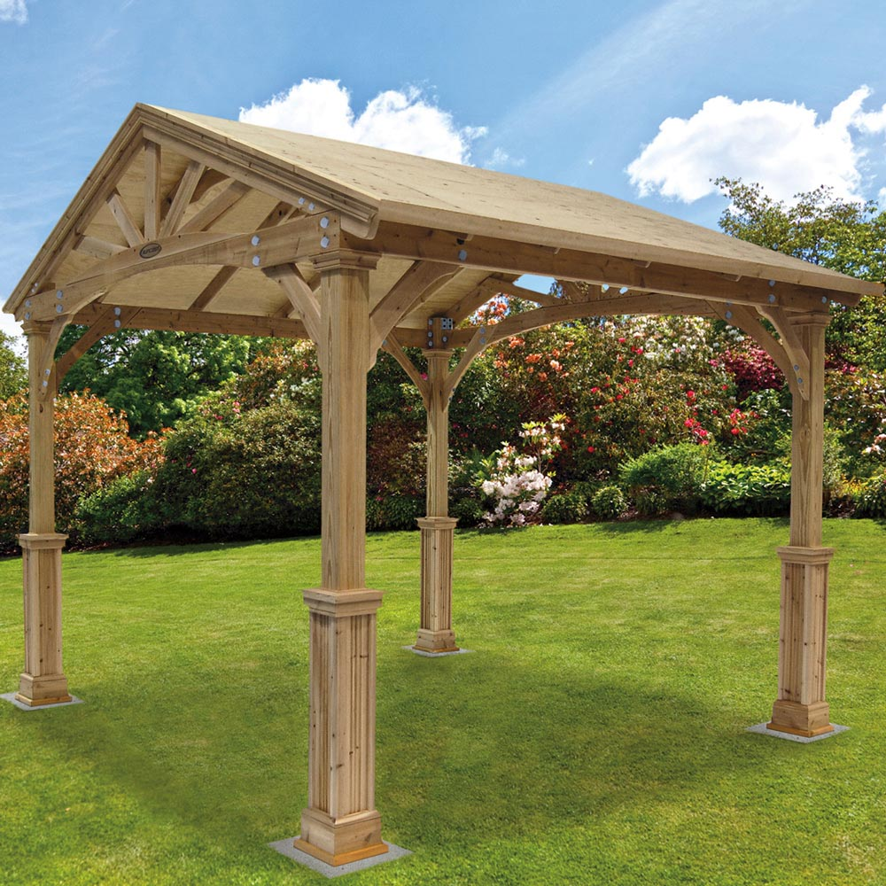 Wood Pergola Kits Costco
