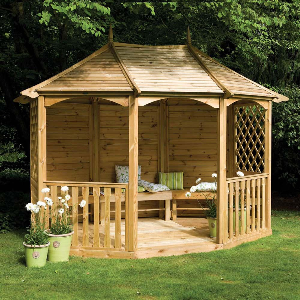 wooden garden gazebo kits pergola design ideas