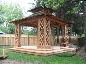 Wooden Garden Gazebo Plans