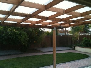 Wooden Pergola Retractable Canopy