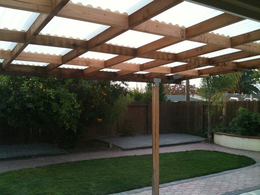 Wooden Pergola Retractable Canopy