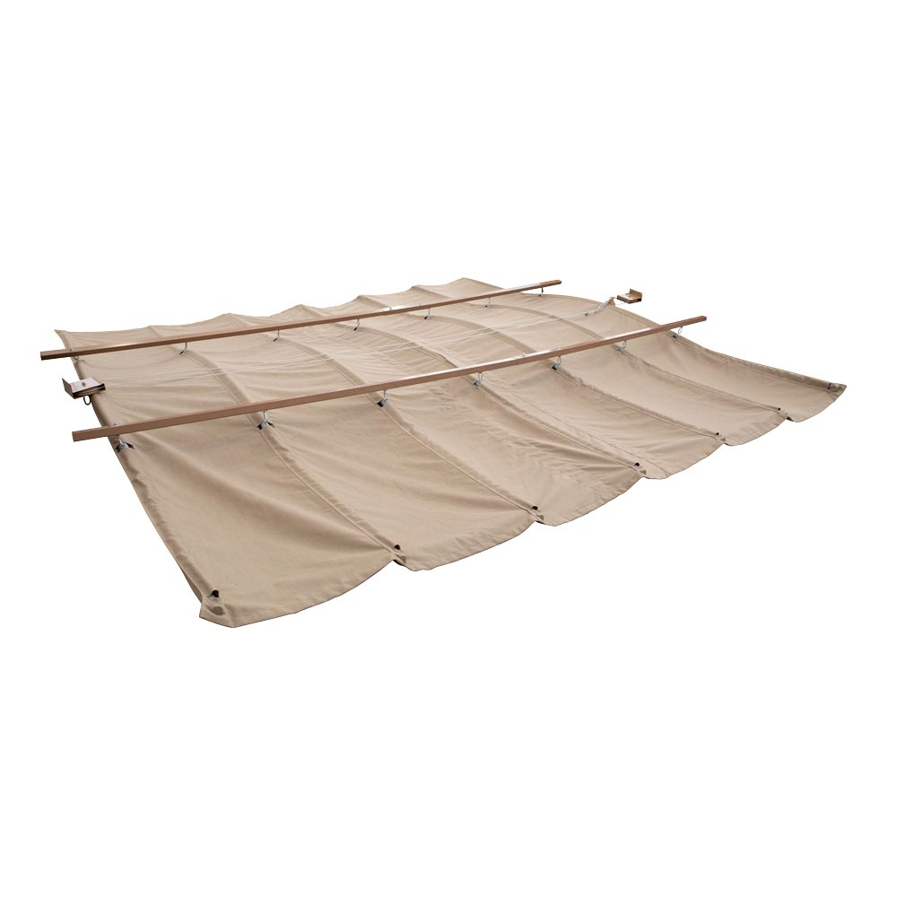 Yardistry Sunbrella Pergola Sun Shad Canopies